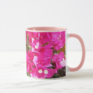 Lovely Pink Bougainvillea Print Coffee Mug