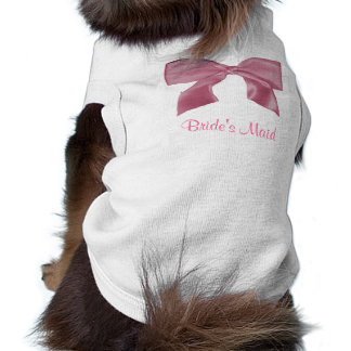 Lovely pink Bow doggie t-shirt