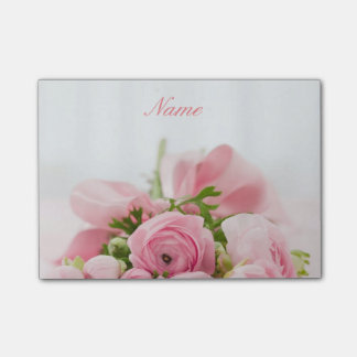 Lovely Pink Roses Post-it® Notes