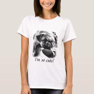 Lovely Playfull Mops T-Shirt