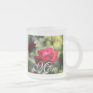 Lovely Pure Red Rose Mug