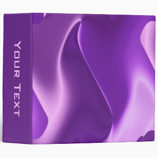 lovely purple binder