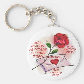 LOVELY ROSES! Key Chain
