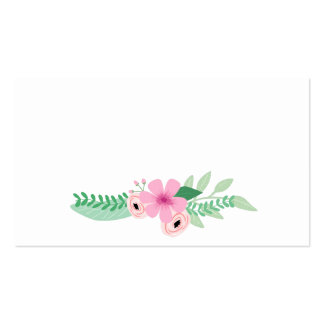 Lovely Rustic Garden Wedding Place card Business Card Templates