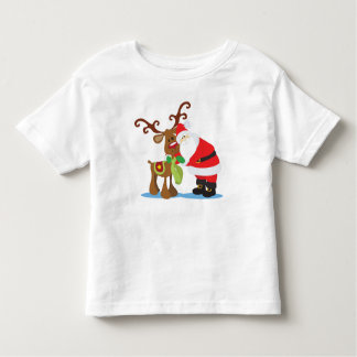Lovely Santa Claus and Reindeer | Shirt