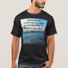 LOVELY SERENITY PRAYER OCEAN AND WAVES PHOTO T-Shirt