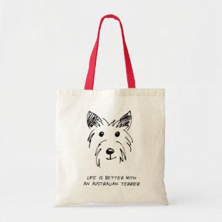 Lovely shopping bag for Australian Terrier Fans!