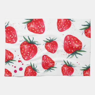 Lovely Strawberry Feeling Fruity Kitchen Towel