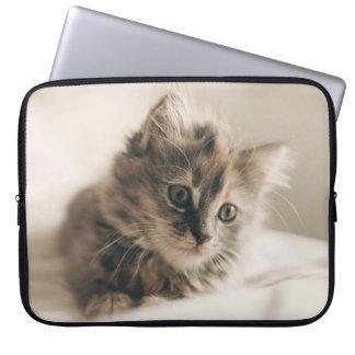 Lovely Sweet Cat Kitten Kitty Laptop Computer Sleeve
