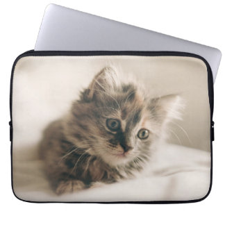 Lovely Sweet Cat Kitten Kitty Laptop Computer Sleeves