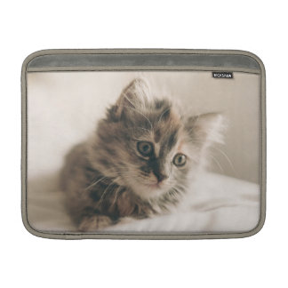 Lovely Sweet Cat Kitten Kitty MacBook Sleeve