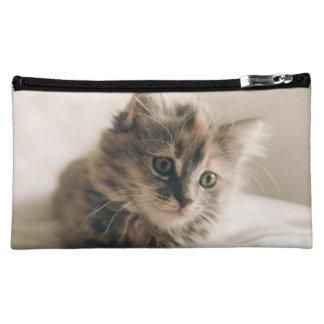 Lovely Sweet Cat Kitten Kitty Makeup Bag