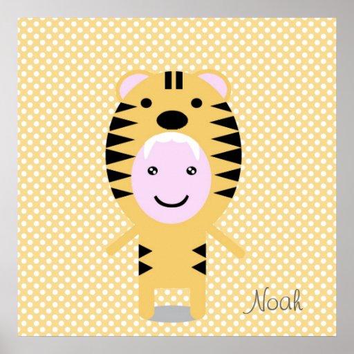 Lovely tiger poster