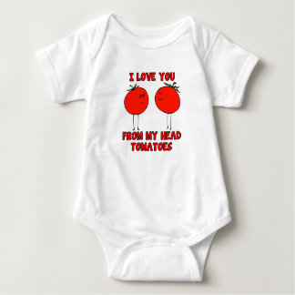 Lovely Tomatoes Baby Bodysuit