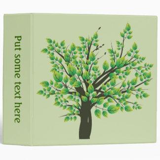 Lovely Tree Vinyl Binders