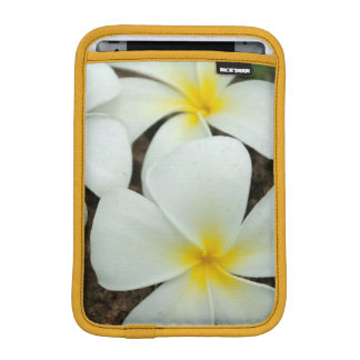 Lovely Tropical Blossoms In The South Pacific iPad Mini Sleeves