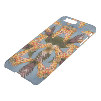 Lovely Urban Funny Colorful Giraffe Print iPhone 8 Plus/7 Plus Case