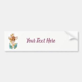 Lovely Vintage Angels Bumper Sticker