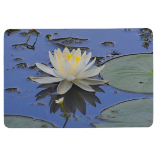 Lovely Water Lily Floor Mat