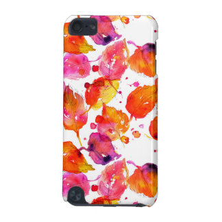Lovely watercolor autumn leaves  pattern iPod touch (5th generation) cover