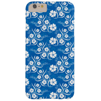 Lovely White Floral Barely There iPhone 6 Plus Case