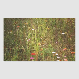Lovely Wild Flowers Sticker