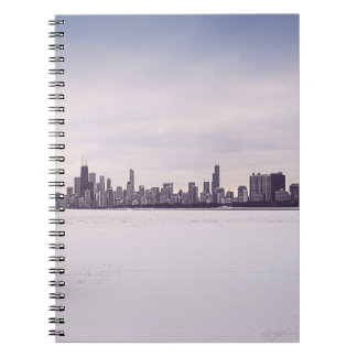 lovely winter Chicago - notebook