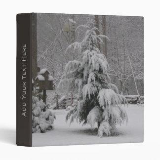 Lovely Winter Scene Binder
