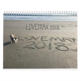 LOVEMAX 2018 WALL CALENDARS