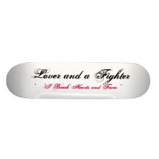 Lover and a Fighter Skateboard Decks