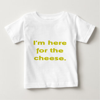 Lover of Cheese Baby T-Shirt