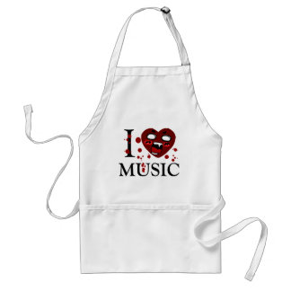 Lover of music_ standard apron
