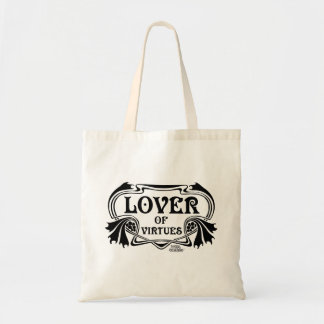 Lover Of Virtues Tote Bag
