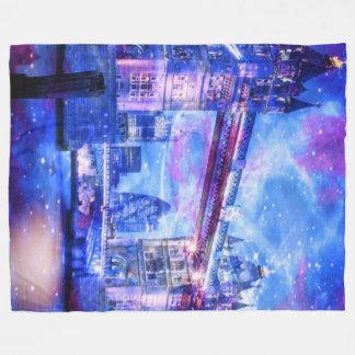 Lover's London Dreams Fleece Blanket