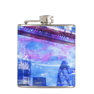Lover's London Dreams Hip Flask