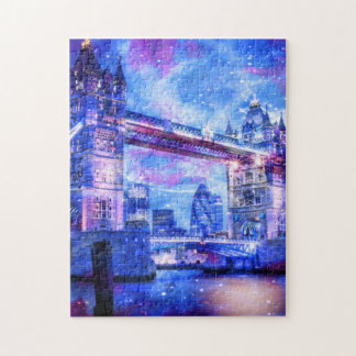 Lover's London Dreams Jigsaw Puzzle