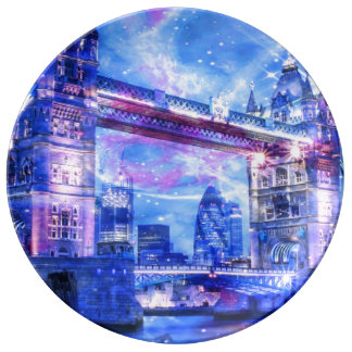 Lover's London Dreams Plate