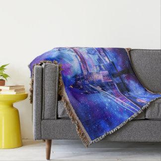 Lover's London Dreams Throw Blanket