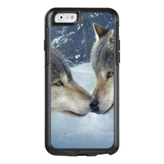 lover wolves In the woods. OtterBox iPhone 6/6s Case