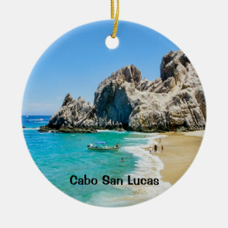 Lovers Beach, Cabo San Lucas Ceramic Ornament