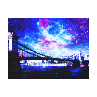 Lover's Budapest Dreams Canvas Print