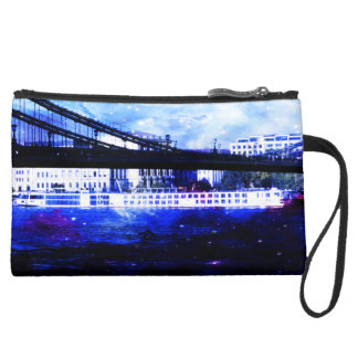 Lover's Budapest Dreams Suede Wristlet