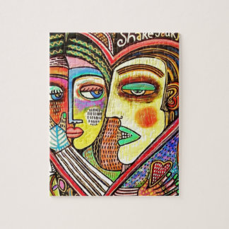 lovers by Sandra Sylberzweig Jigsaw Puzzle
