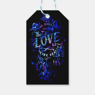 Lover's Dream of the Ones that Love Us Gift Tags