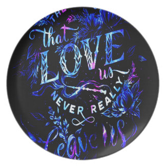 Lover's Dream The Ones that Love Us Dinner Plate