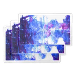 Lover's Dreams Bridge to Anywhere Acrylic Tray