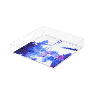 Lover's Dreams Bridge to Anywhere Serving Tray