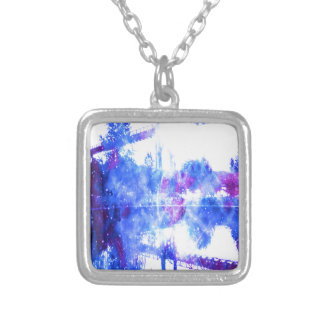 Lover's Dreams Bridge to Anywhere Silver Plated Necklace