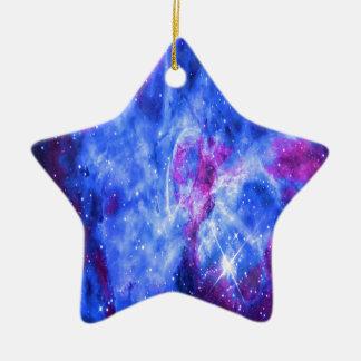 Lover's Dreams Ceramic Star Ornament