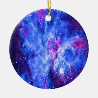 Lover's Dreams Round Ceramic Ornament